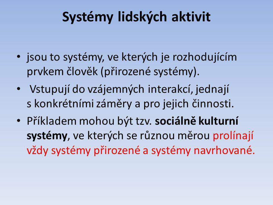 Systémy lidských aktivit