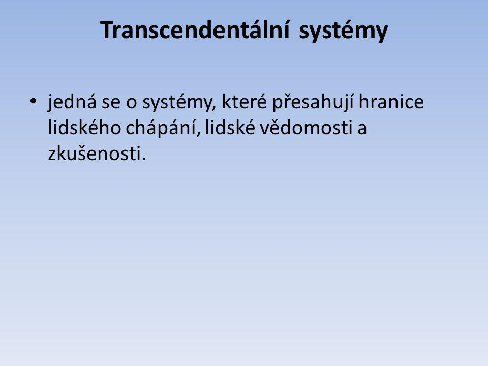Transcendentální systémy