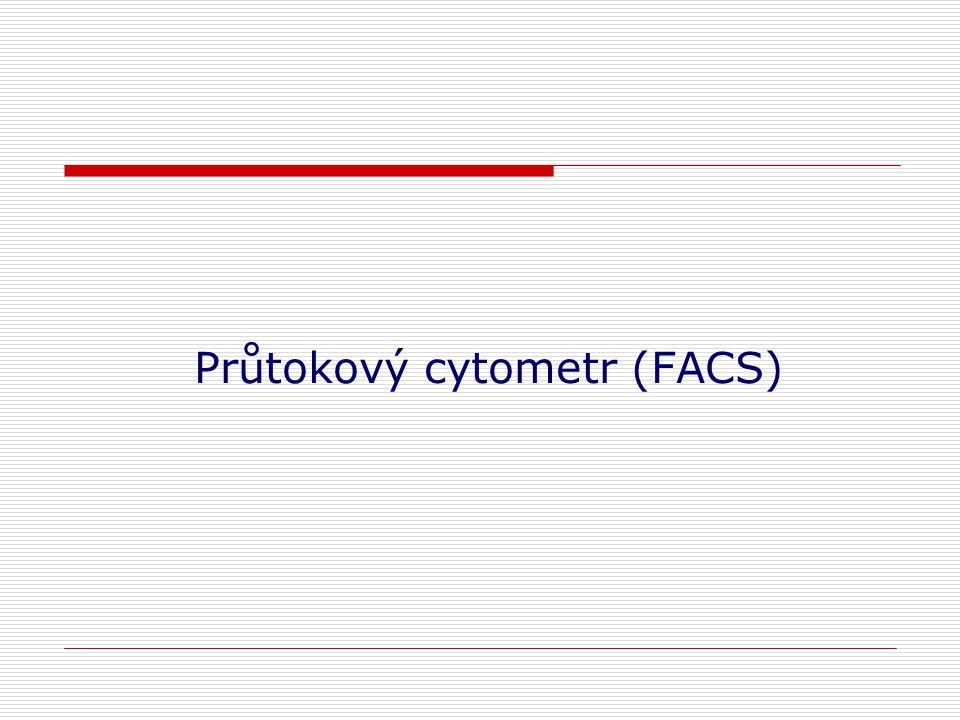 Průtokový cytometr (FACS)