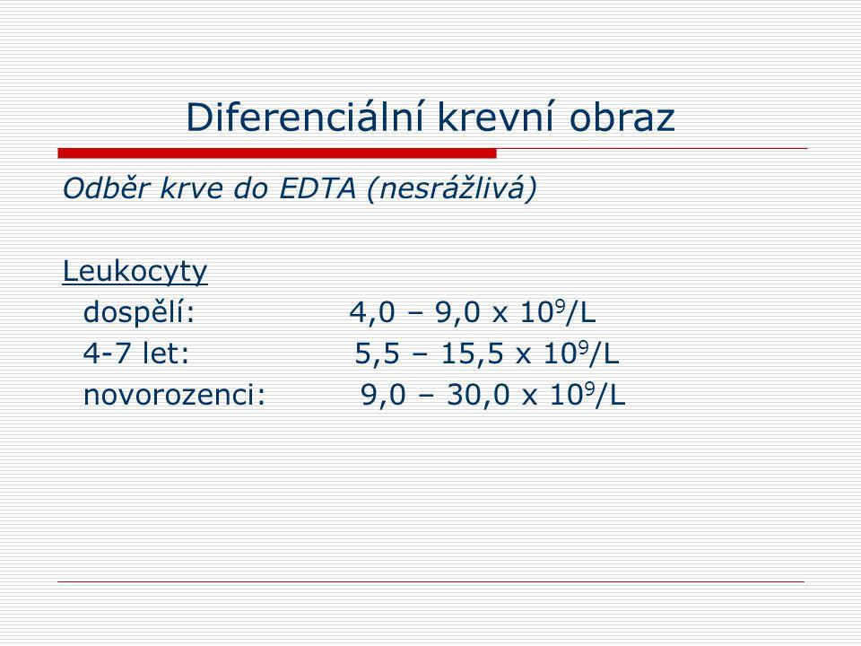 Diferenciální krevní obraz