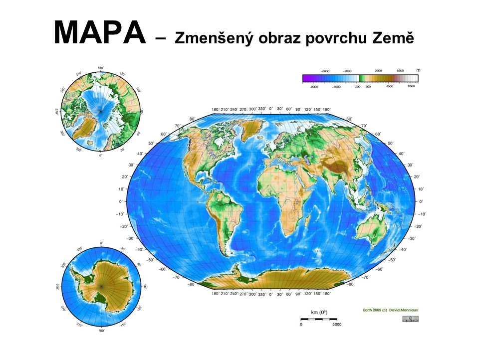 MAPA – Zmenšený obraz povrchu Země