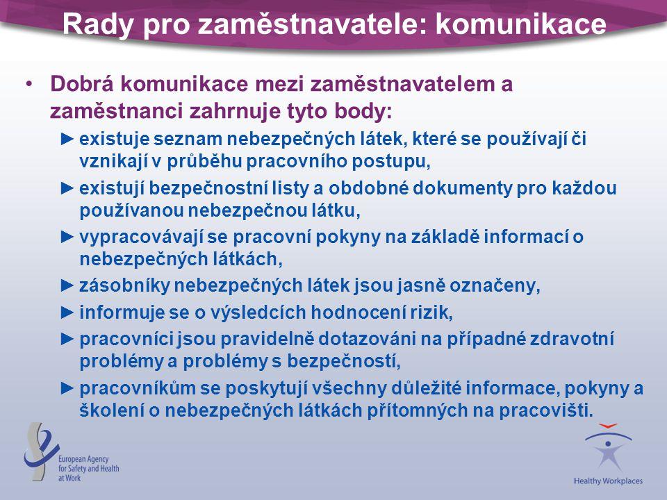 Rady pro zaměstnavatele: komunikace