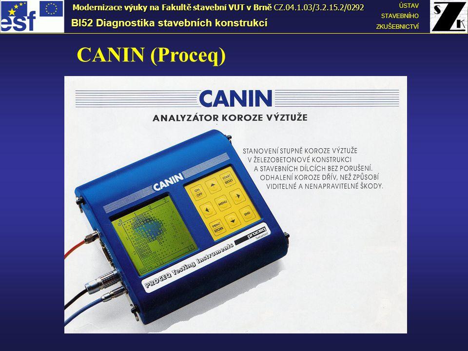 CANIN (Proceq) BI52 Diagnostika stavebních konstrukcí