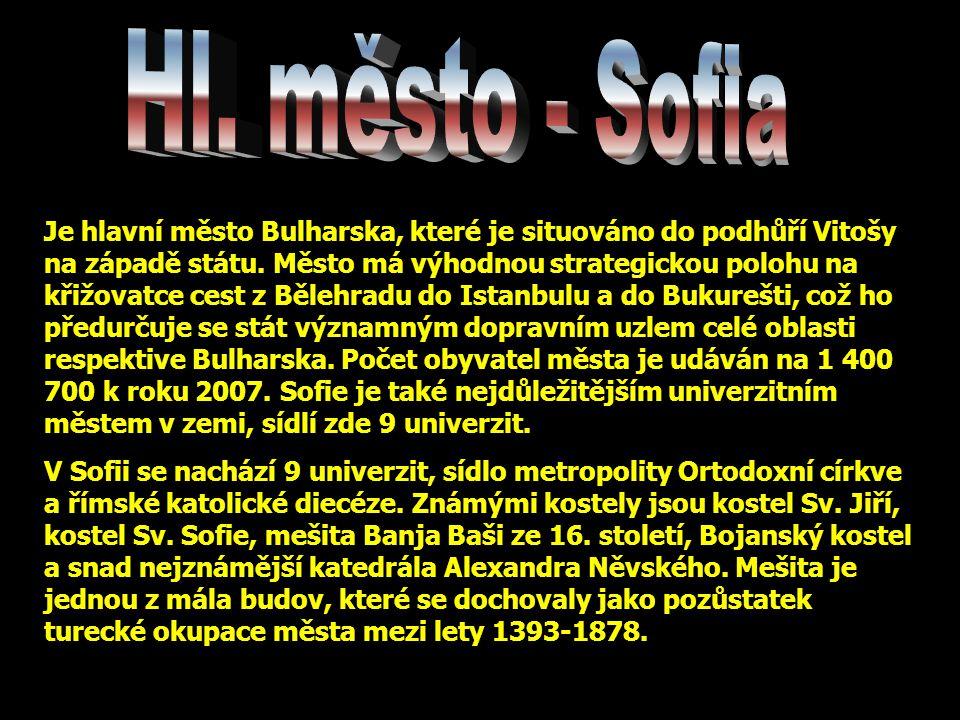 Hl. město - Sofia