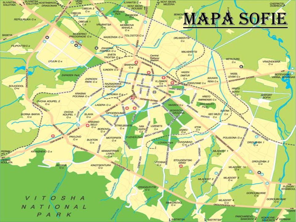 Mapa SOFIE