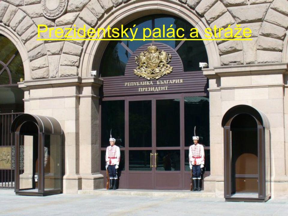 Prezidentský palác a stráže