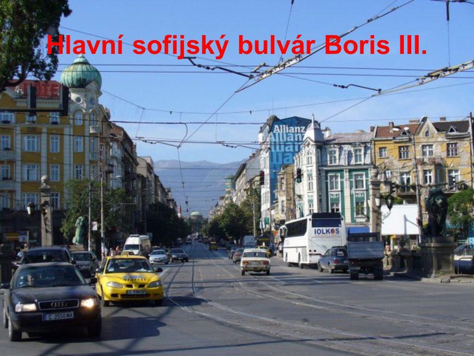 Hlavní sofijský bulvár Boris III.