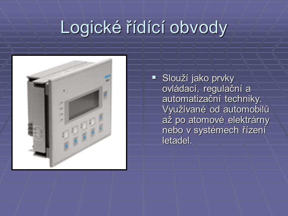 Logické řídící obvody