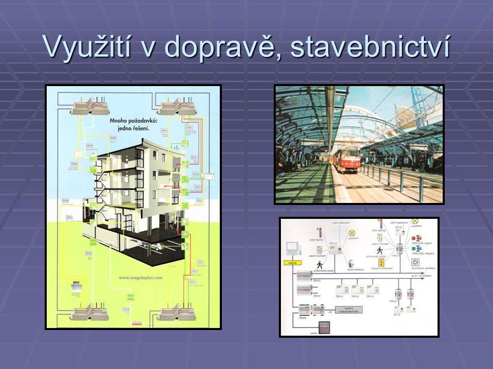 Využití v dopravě, stavebnictví