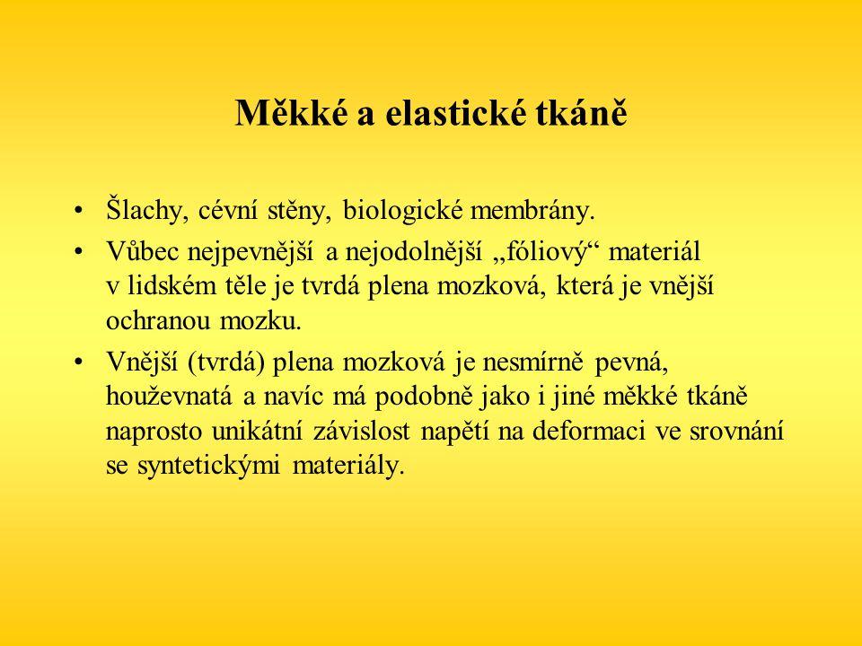 Měkké a elastické tkáně