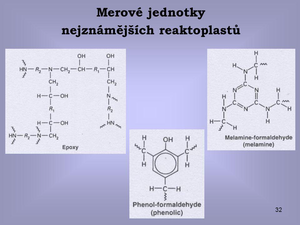 nejznámějších reaktoplastů