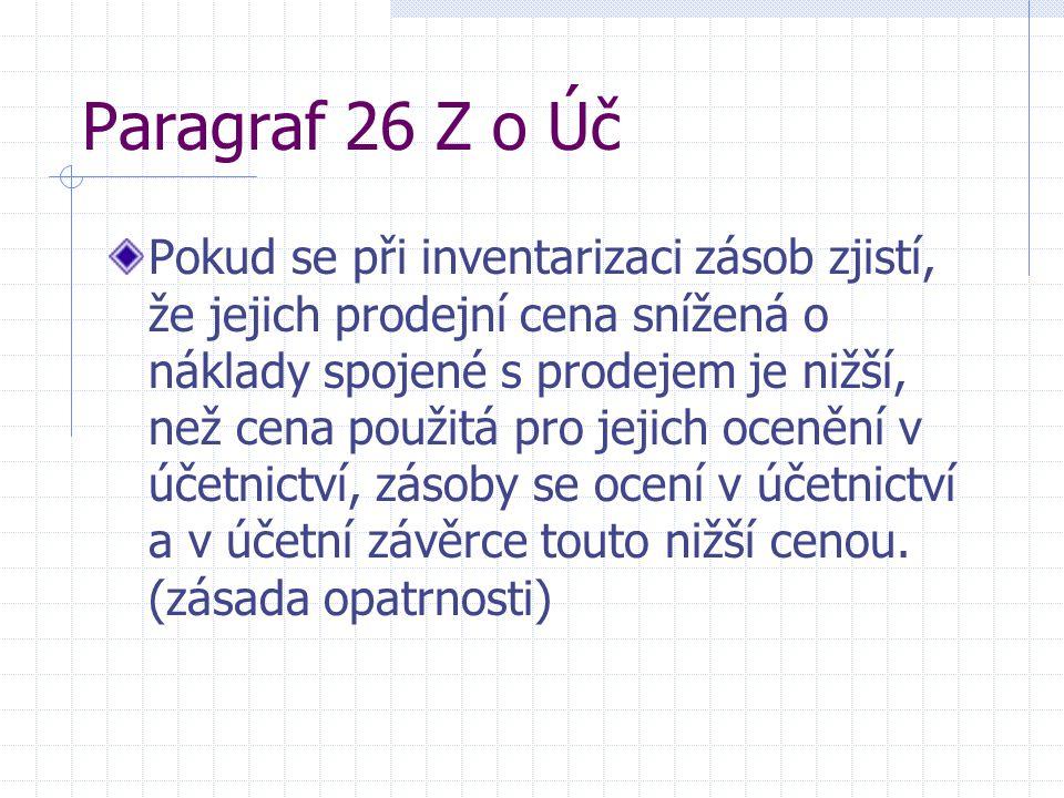 Paragraf 26 Z o Úč