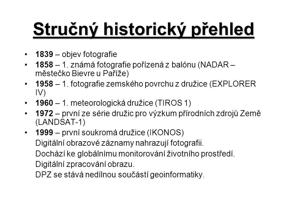 Stručný historický přehled