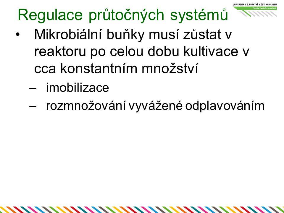 Regulace průtočných systémů