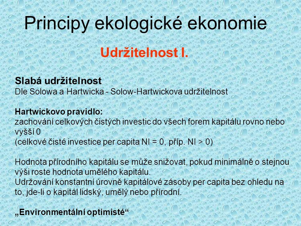 Principy ekologické ekonomie