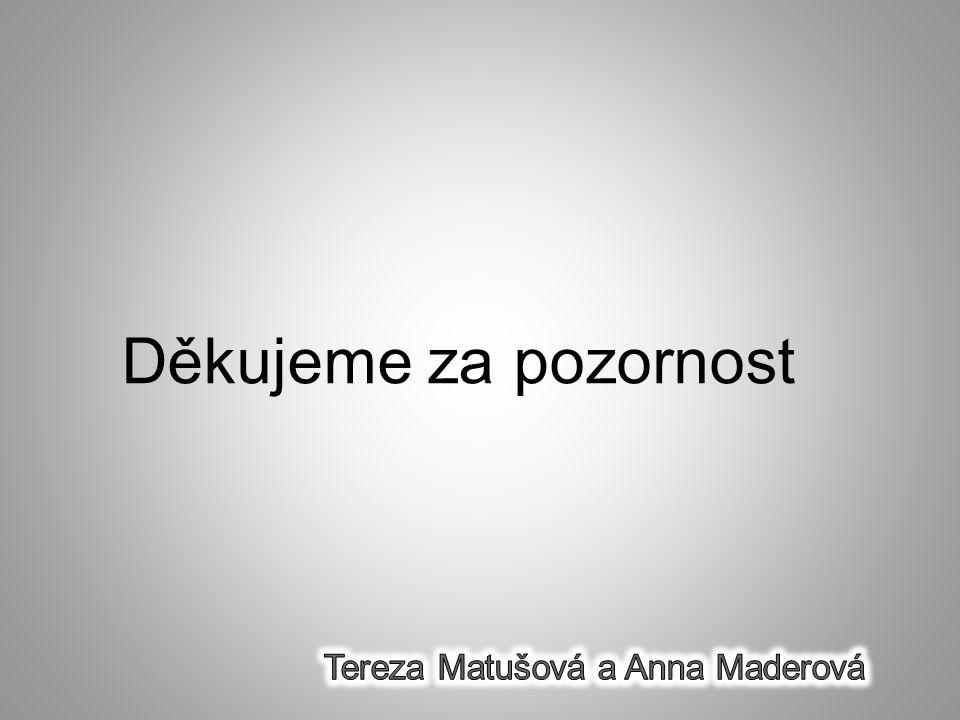 Tereza Matušová a Anna Maderová