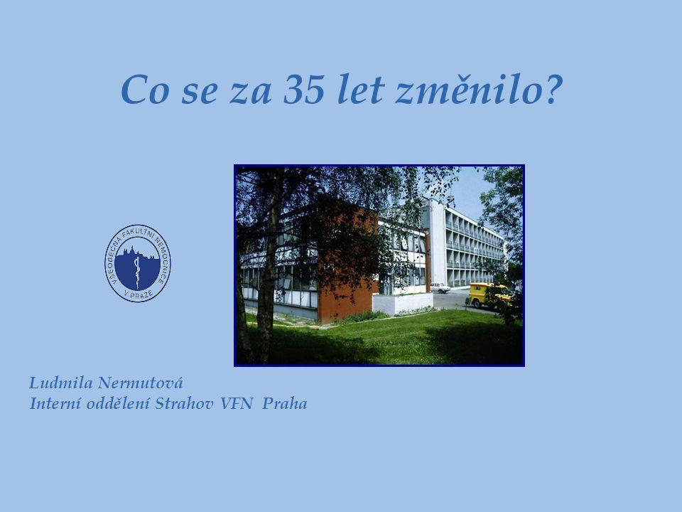 Co se za 35 let změnilo Ludmila Nermutová