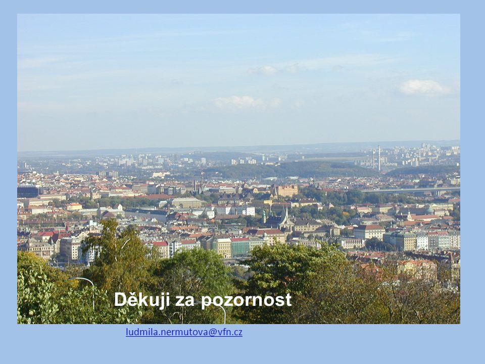 Děkuji za pozornost ludmila.nermutova@vfn.cz