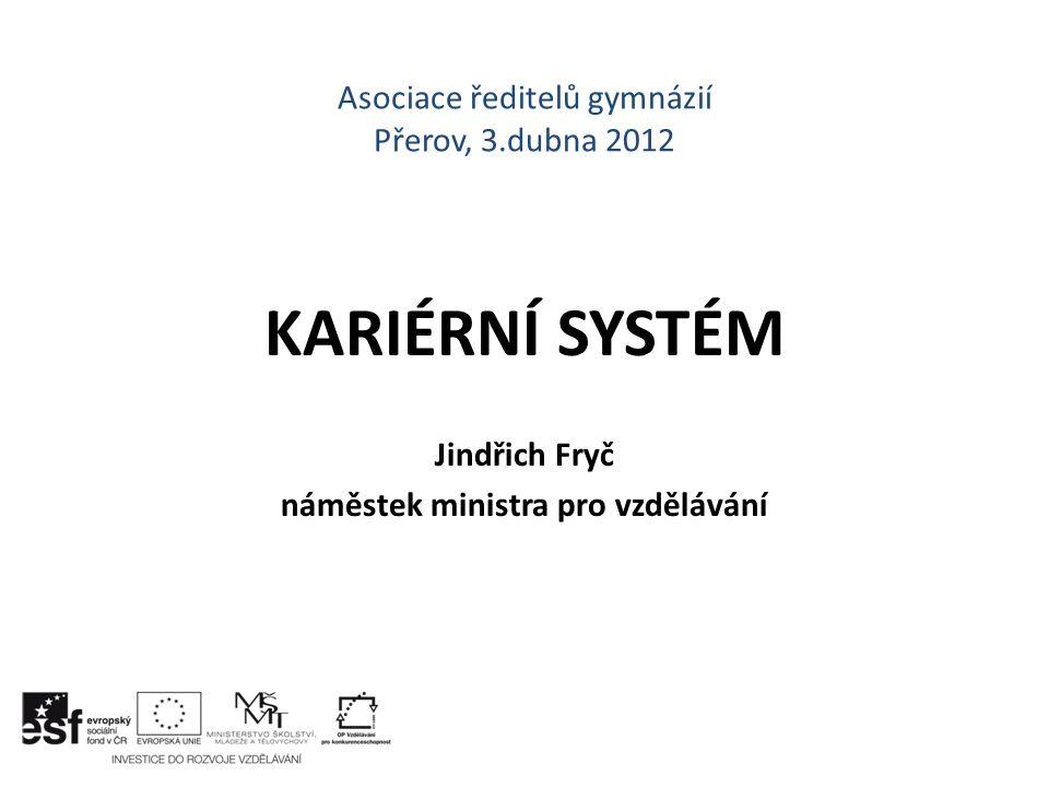 Asociace ředitelů gymnázií Přerov, 3.dubna 2012