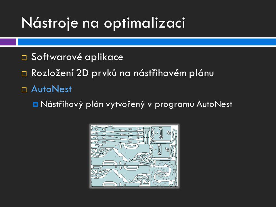 Nástroje na optimalizaci