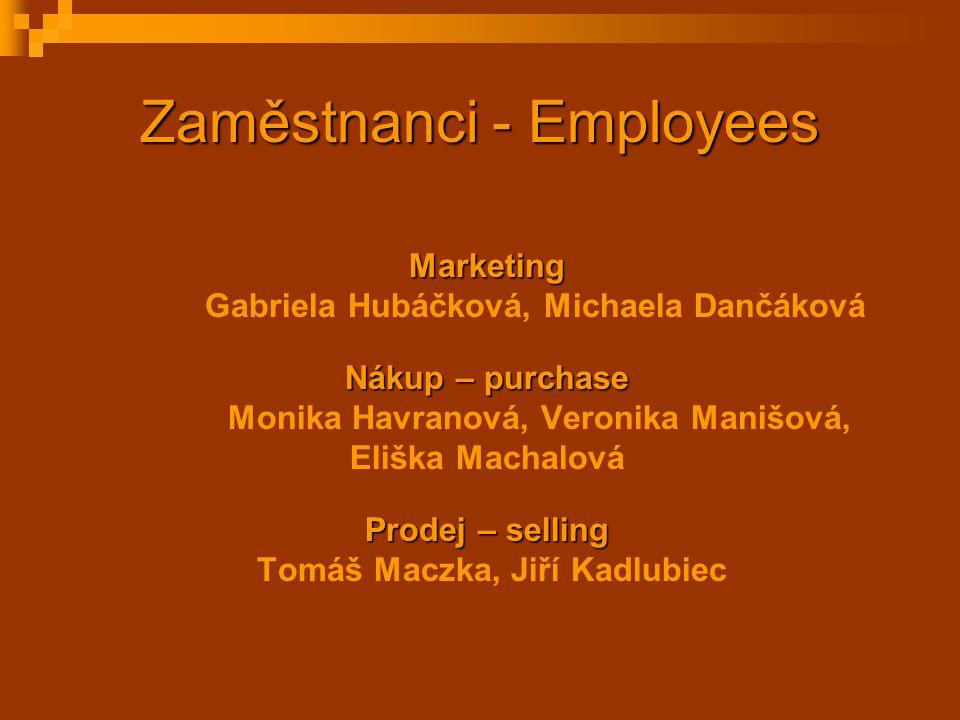 Zaměstnanci - Employees