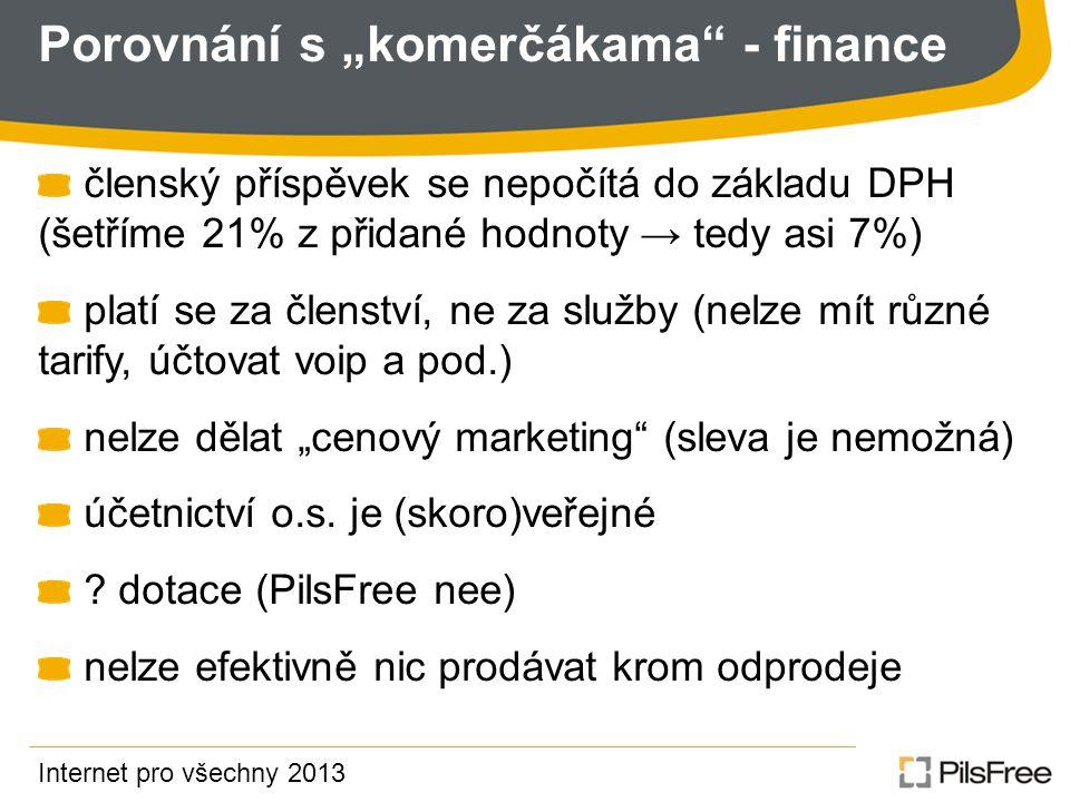 """Porovnání s """"komerčákama - finance"""