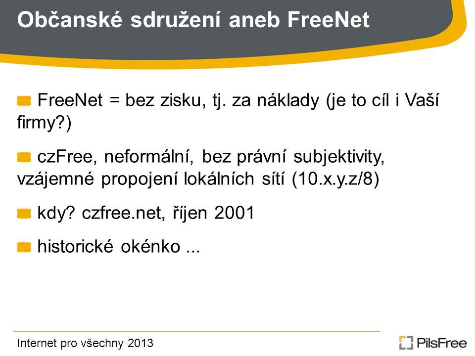 Občanské sdružení aneb FreeNet