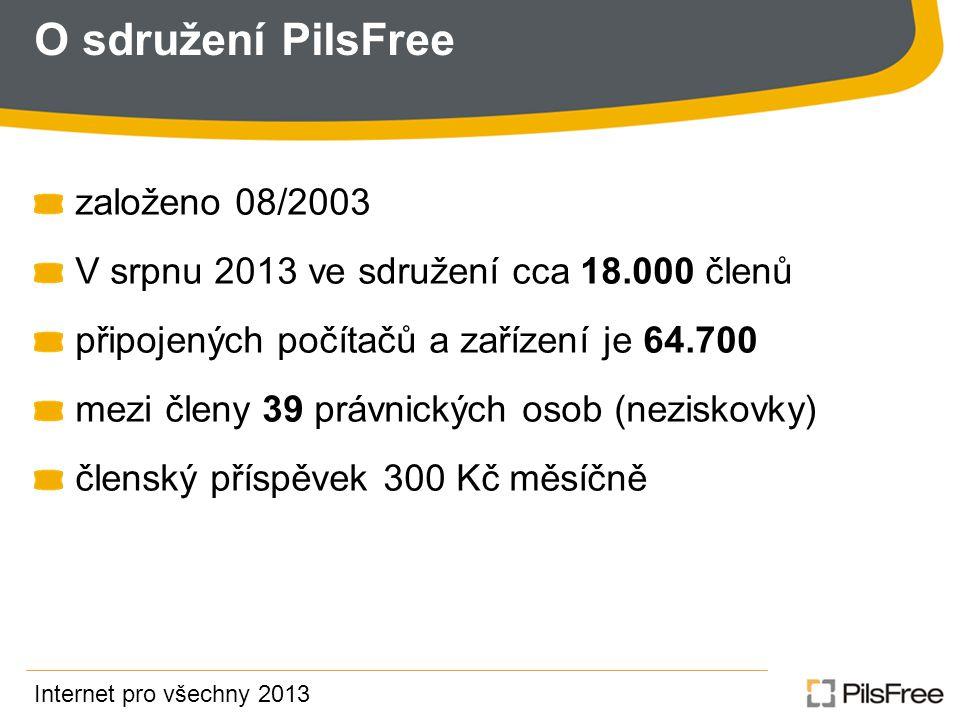 O sdružení PilsFree založeno 08/2003