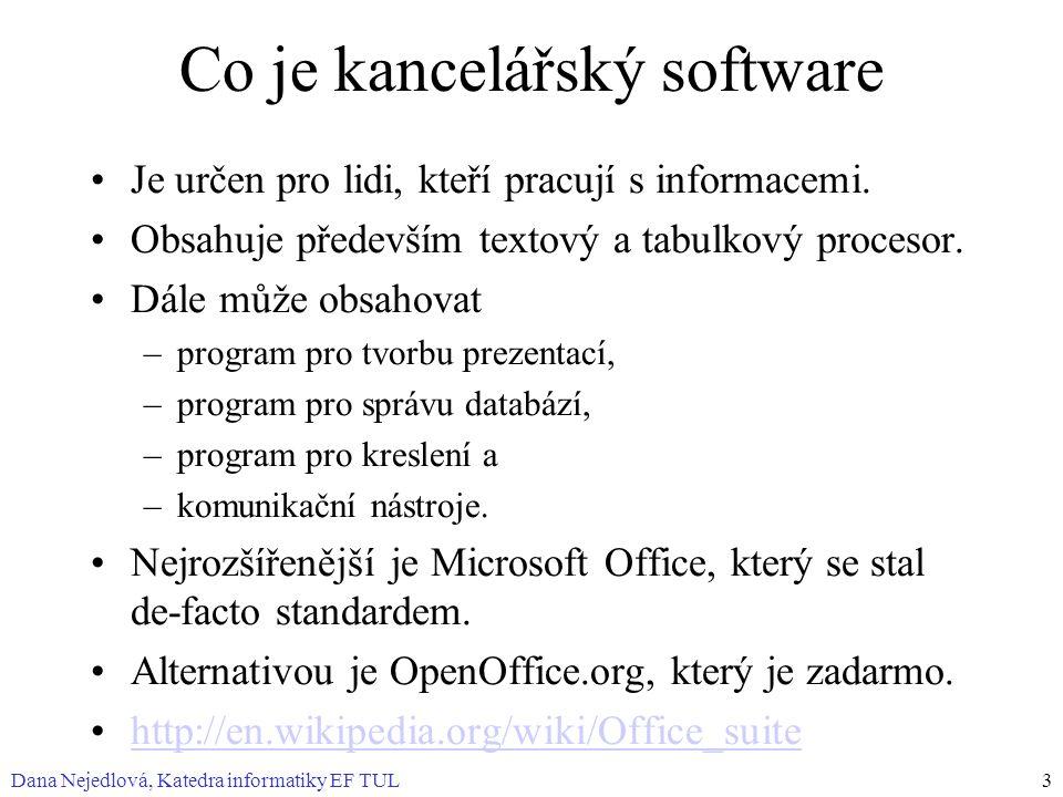 Co je kancelářský software
