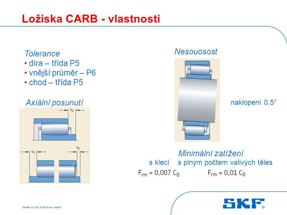 Použití ložisek CARB Průmyslové ventilátory Ocelárny Báňský průmysl