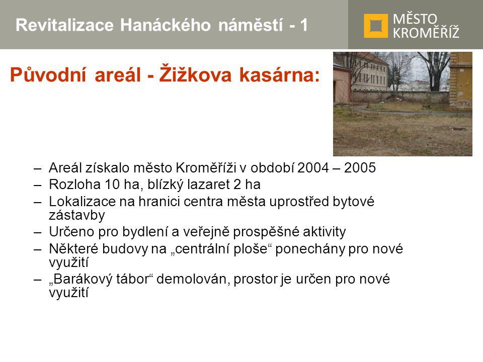 Revitalizace Hanáckého náměstí - 1
