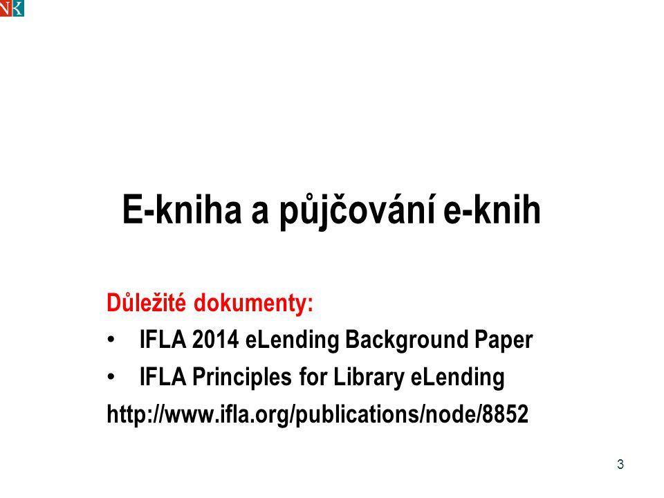 E-kniha a půjčování e-knih