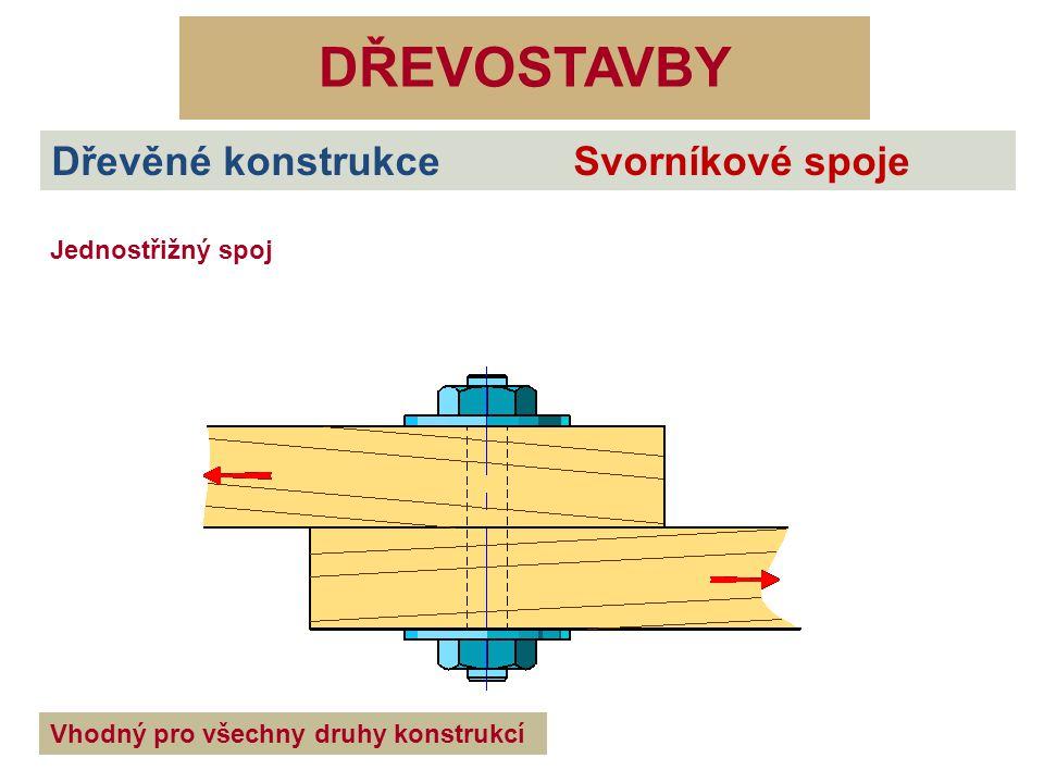DŘEVOSTAVBY Dřevěné konstrukce Svorníkové spoje Zdroje