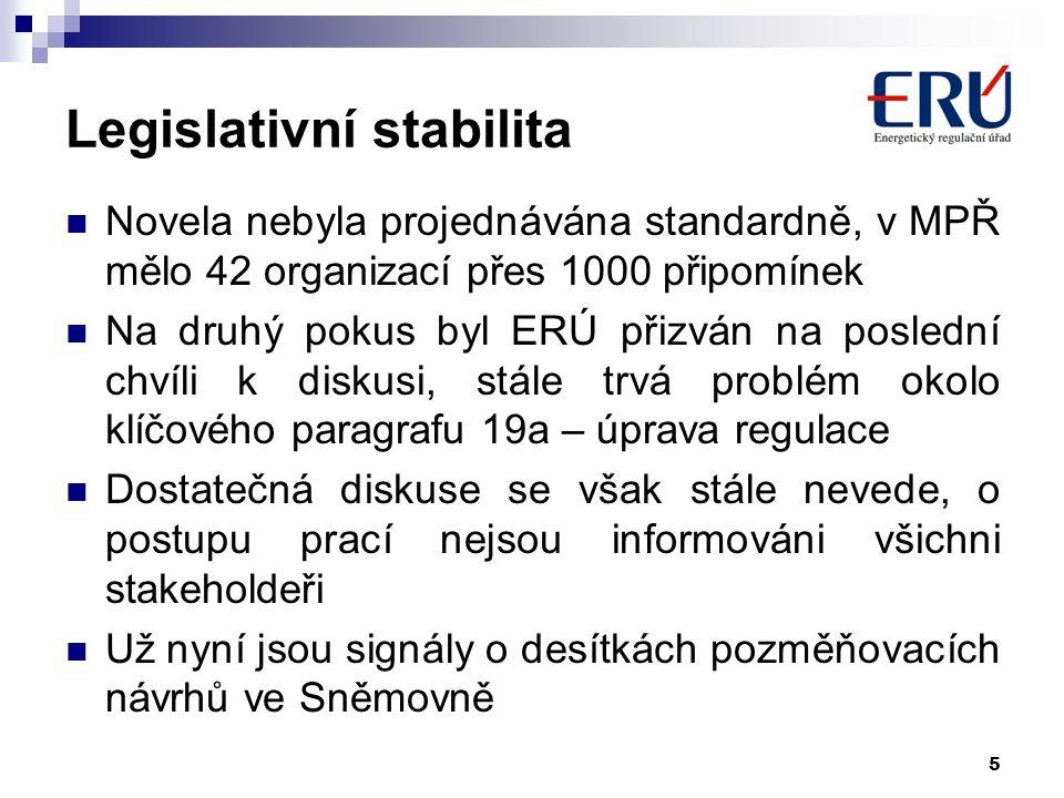 Legislativní stabilita