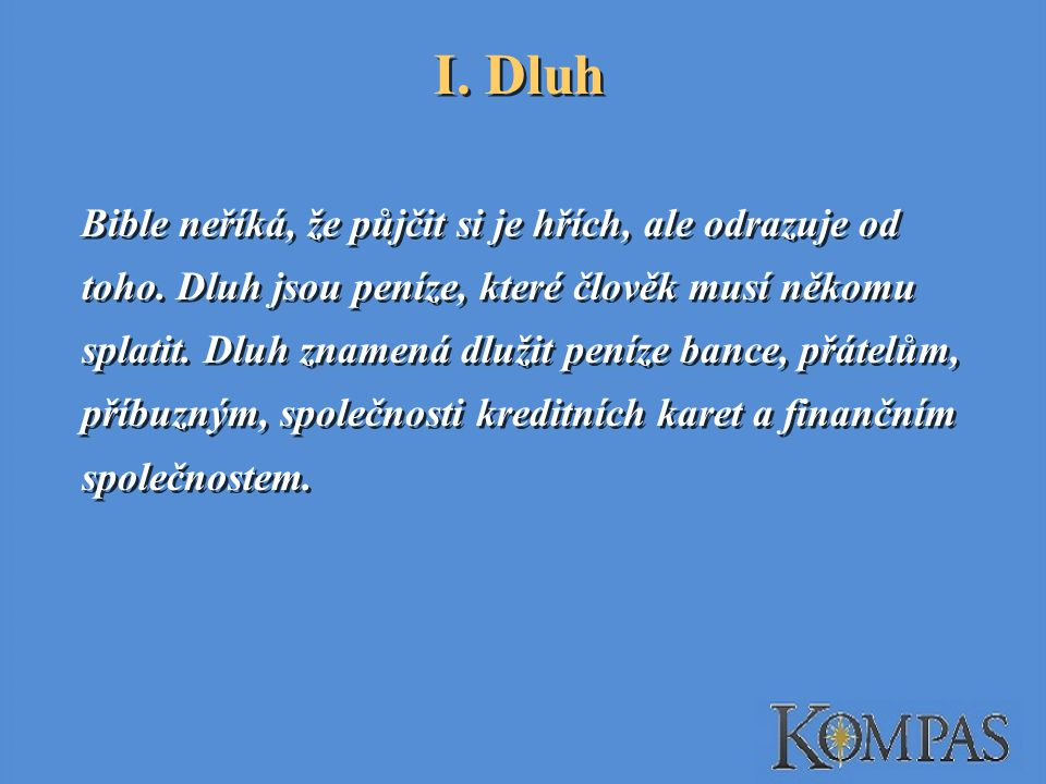 I. Dluh