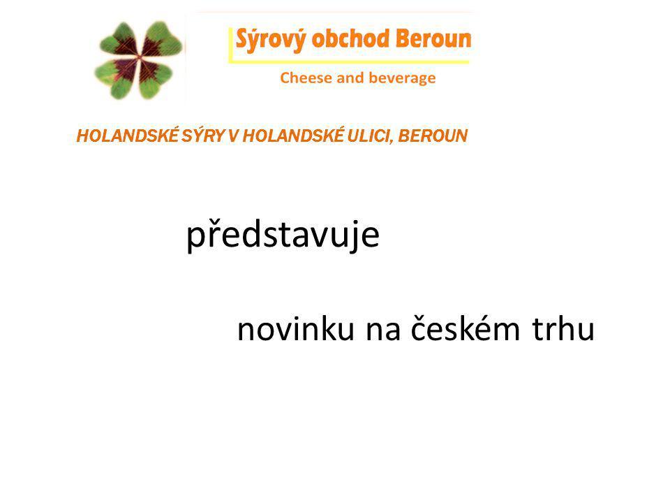 představuje novinku na českém trhu