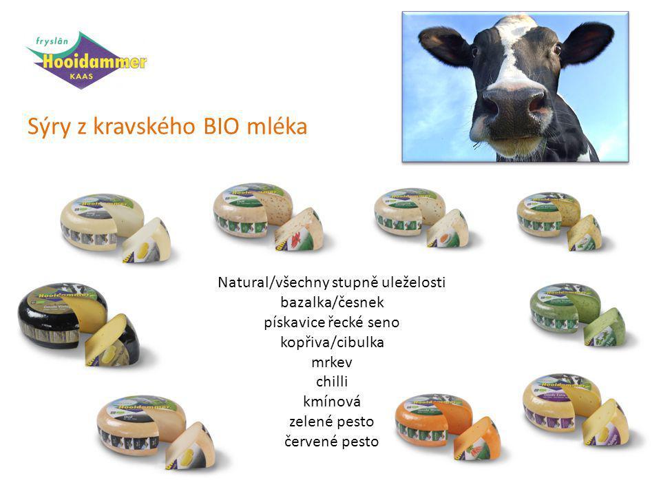 Sýry z kravského BIO mléka