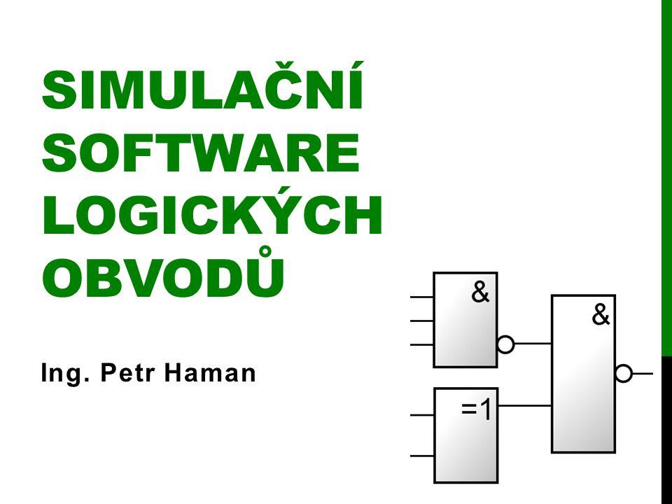 Simulační software logických obvodů