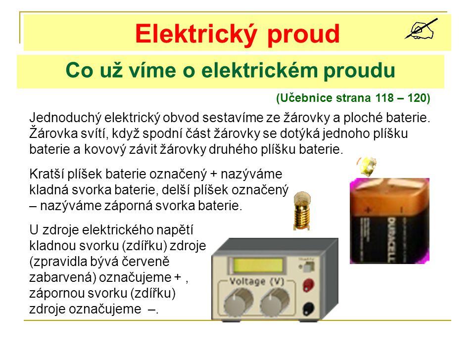 Co už víme o elektrickém proudu