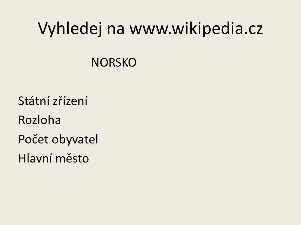 Vyhledej na www.wikipedia.cz