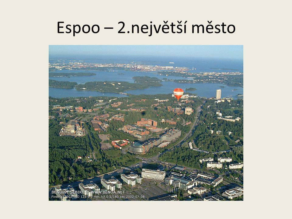 Espoo – 2.největší město