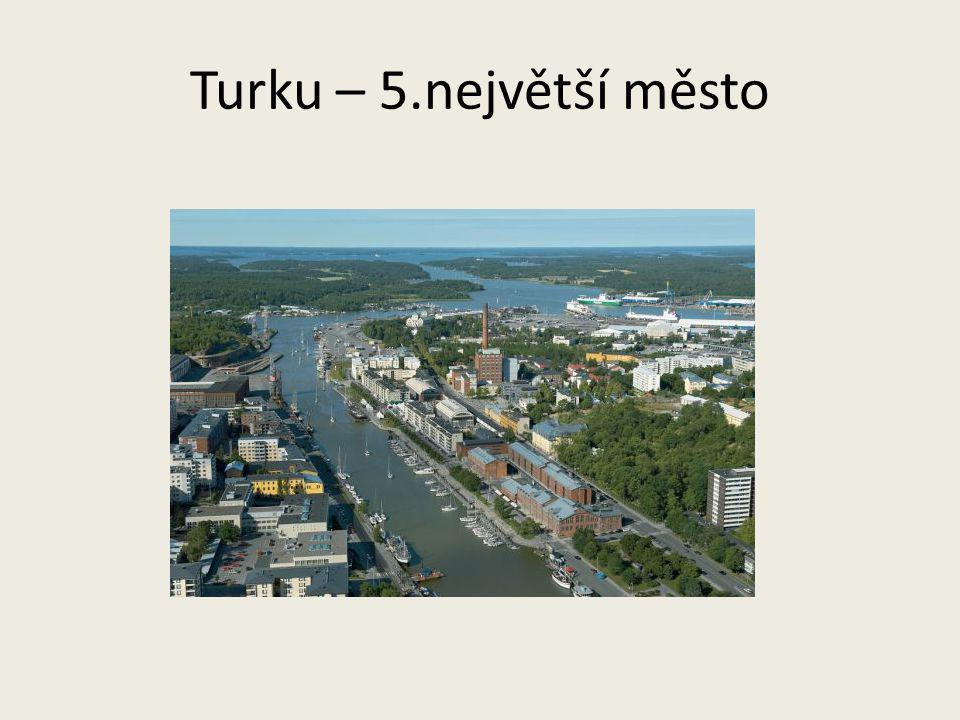 Turku – 5.největší město