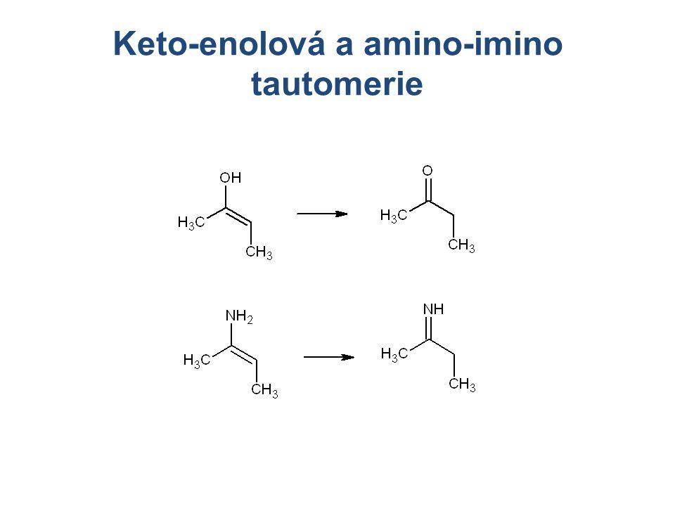 Keto-enolová a amino-imino tautomerie