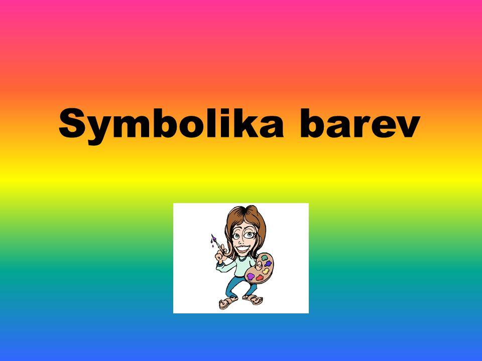 Symbolika barev