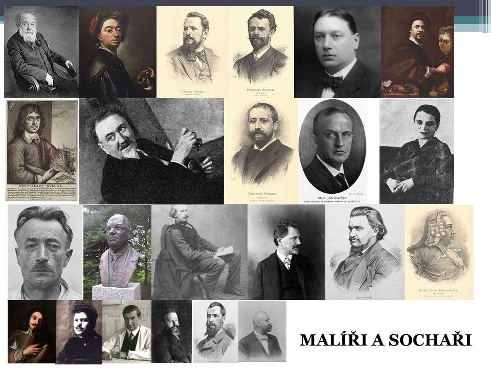 MALÍŘI A SOCHAŘI