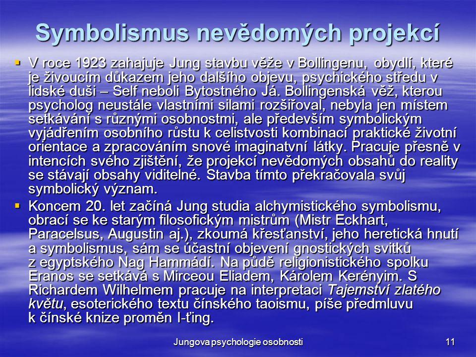Symbolismus nevědomých projekcí