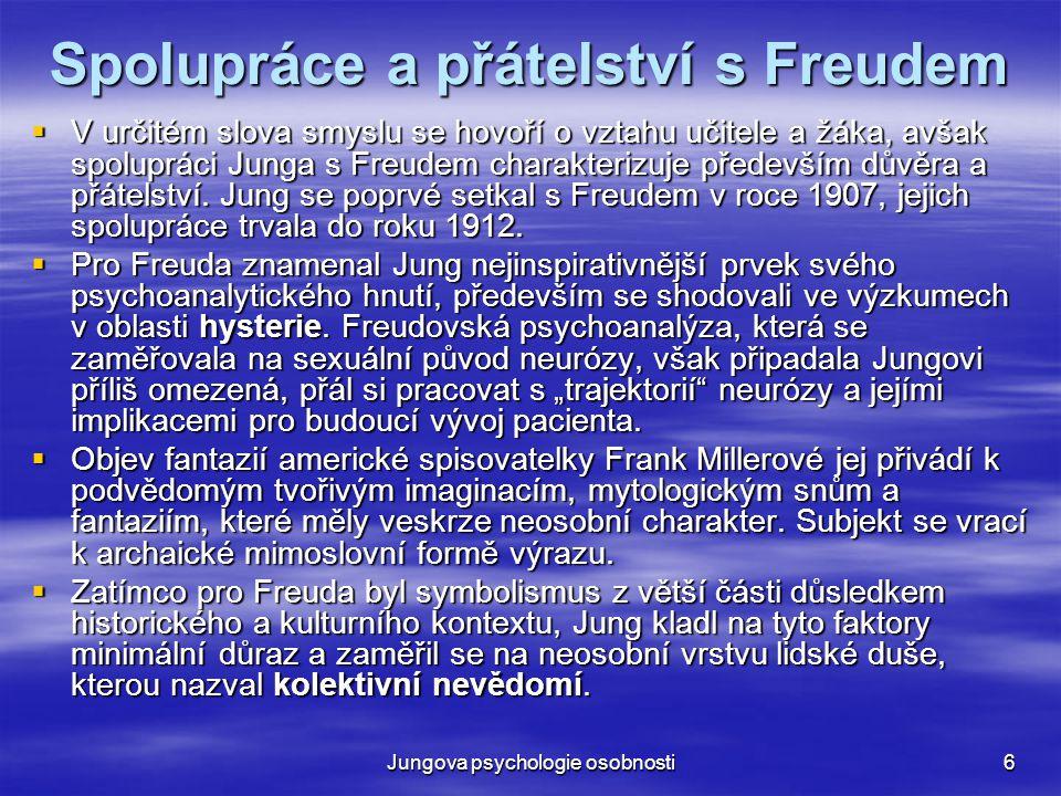 Spolupráce a přátelství s Freudem