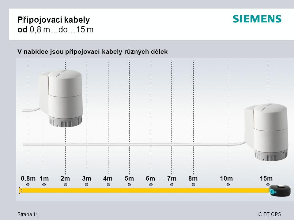 Připojovací kabely od 0,8 m…do…15 m