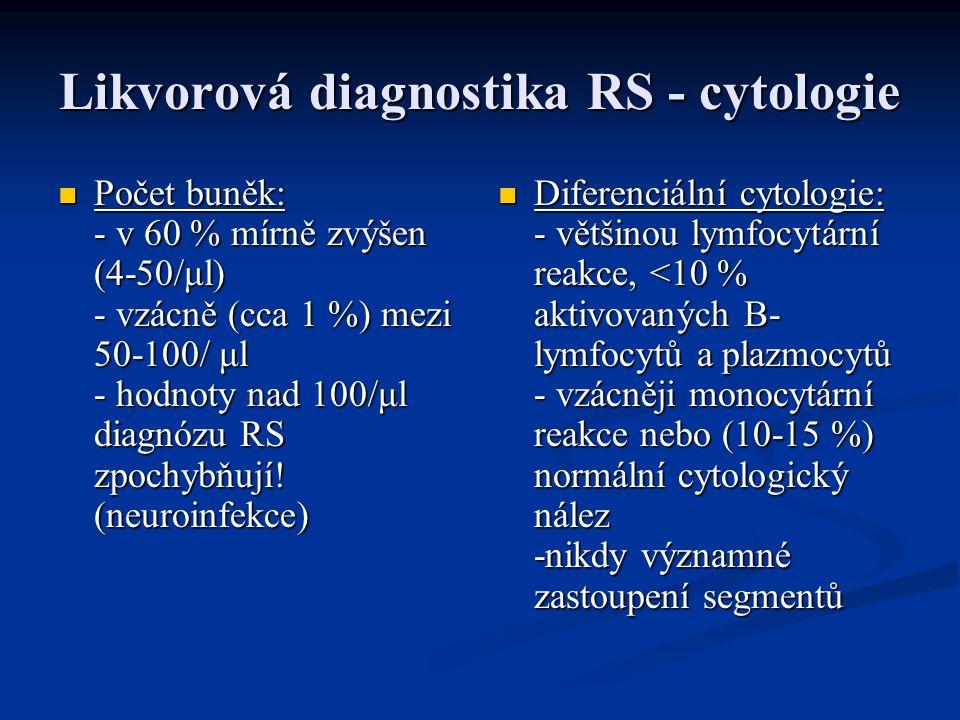 Likvorová diagnostika RS - cytologie
