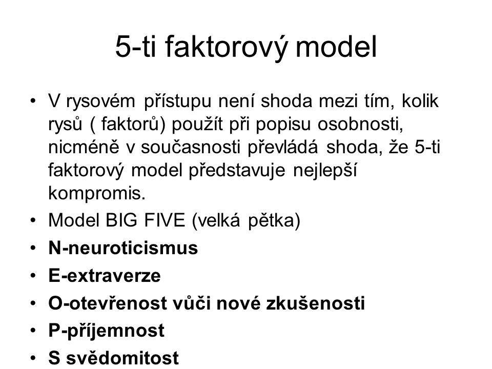 5-ti faktorový model